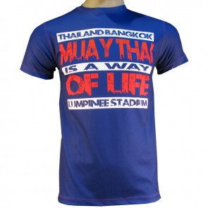 Victory Sports T-Shirt Thaiboxing is a Way of Life