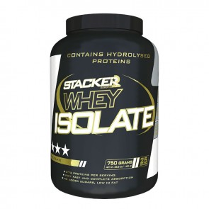 Stacker Whey Isolate Aardbei 750gram