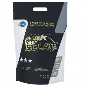 Stacker Whey Isolate Banaan 1500gram